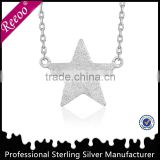 Fashion silve star shaped body chain jewelry