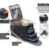 Hot sale innovator insulated meal management cooler lunch bag for 3 meals