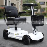 Cheaper price 4 wheels travel electric mobility scooter foldable easy carrying knee walker