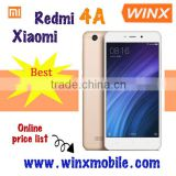 Hot sale! Original Xiaomi Redmi 4A mi 4a 2GB ram 16GB rom 4 sim card mobile phone cheap phone andriod