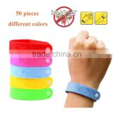 Wholesale Custom Printed Anti Mosquito Band Bracelet Mosquito Repellent Wristband