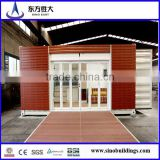 Hot sale in China and foreign!Economic pre container house for coffe house,office 20 ft,40 ft