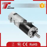 42mm planetary gear high speed 12V DC motor