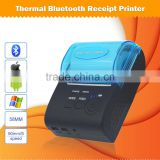 Voxlink portable barcode printer 58mm thermal receipt printer bluetooth for android system