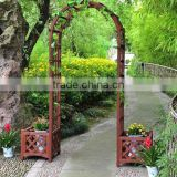 WOODEN ARCH & PLANTERS/Decorative Wooden Arch Planter / Garden Flower Pot / Planter box
