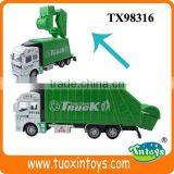 toy plastic garbage can, toy garbage trucks, garbage toy truck