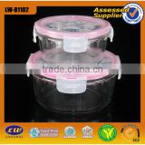 2015 Air-tight Brosilicate Glass Storage Container Use Microwave Oven
