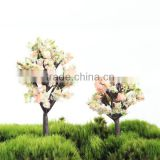 Moss bottles micro landscape accessories artificial peach tree decorative background plant