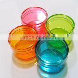 custom make color small Clear Plastic Boxes,OEM design colorful mini clear plastic box