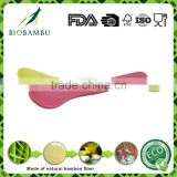 bamboo fiber colorful eco-friendly spoon