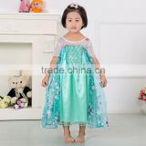latest frozen elsa dress wholesale frozen princess elsa costume frozen elsa princess dress
