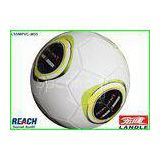 White World Cup Machine Stitched Soccer Ball Size 5 With Three Layers
