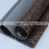 shiny glitter wallpaper pu synthetic leather fabric