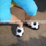 home style soft comfortable soccer cartoon child Slippers