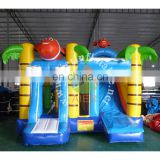 PVC High Quality Inflatable Castle Fish Bouncy Castle House Castle Kid Play Tent