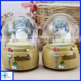 resin Totoro Chinchilla statue snow globe