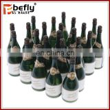 Promotional 9.5cm champagne bottle wedding bubble toy