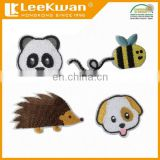 peel and stick animal patch embroidered, cartoon emoji patches, iron patch sticker embroidery patch