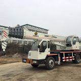 telescopic boom truck crane 16 ton with homemade truck crane