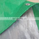 waterproof pe fabric tarpaulin with 6reinforced brands for relief tent and truck cover