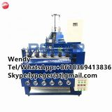 China automatic stainless steel scourer making machine/kitchen cleaning ball making machine