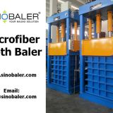 Microfiber Cloth Baler Machine