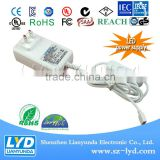 12v 2a 24W battery charger power adapter plastic shell for Network HD camera Security products
