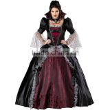 wholesale adult women Queen Of The Vampires halloween sexy fantasy black gothic lolita dress cosplay costume