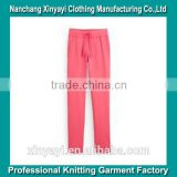 New Girls women casual Harem Baggy Pants Slacks Trousers From Alibaba China Supplier/Custom Knit Pants Factory Price