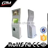 "19"" All In One Pc Touch Screen Advertising Display Dual Screen Multimedia Kiosk Printer Totem Display Touch Screen Kiosk"