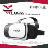 "3D VR Virtual Reality Headset 3D Glasses Adjust Cardboard VR BOX 2.0 For 3.5~6.0"" Smartphones"