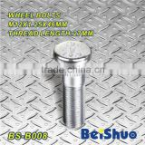 BS-B008,M12x1.5x46mm Knurled Wheel Stud Bolt