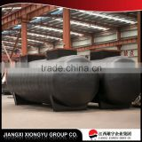 Tri-Axle 45000 Liter Aluminium Diesel Oil Fuel Tanker Transport Tank Truck Semi Trailer for sale