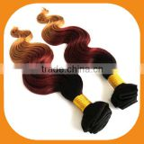 High Quality Ombre Hair Weaves Color 1B# -33#-27#