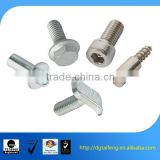 galvanized steel custom knurled pins