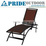 Lounger Chaise Lounge Outdoor Beach Pool Lazy Aluminium People Sun Lounger