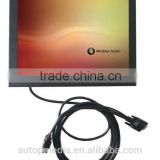 TS-121B 12 inch digital TFT LCD Monitor with touch Stand screen