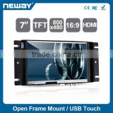 "7"" Open Frame Touch Panel PC for Industrial Control"