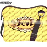 Colorful Zipper With Belt Neoprene Laptop Bag