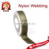 Webbing Wholesale,Army Green Dashed Neylon Reflective Silk Ribbon Ecp-Frendly Webbing, Luggage Apparel Accessories Webbing