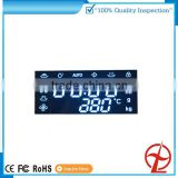 custom display special white color led display for micro-wave oven 3-5 digital led diaplay