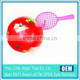 beach play ball racket