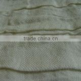 Corrugated RAMIE cotton fabric