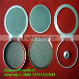 food grade polyester/nylon monofilament liquid filter mesh 220 micron, mesh filter disc, screen bolting cloth--------Ligeda323