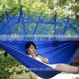 Adult 210T nylon parachute hammock with Mosquito Netting Hanging Bed with mesh