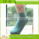 Bamboo charcoal fiber socks microfiber socks summer lovely gift box sox thin cotton female socks