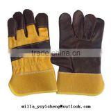 Wholesale custom welding work gloves from Shandong factory                                                                                                         Supplier's Choice