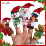 Partypro 2015 New Product Christmas Toy Funny Small Flannel New Christmas Minion Plush Toy