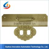 CNC machining brass parts , Custom all kinds of metal parts , Wooden door accessories ITS-017