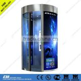 ATM curved sliding door, security glass, CE, UL, ISO9001 certificate